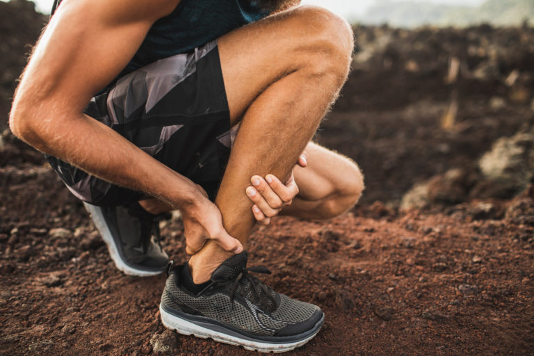 Beschwerden an der Achillessehne